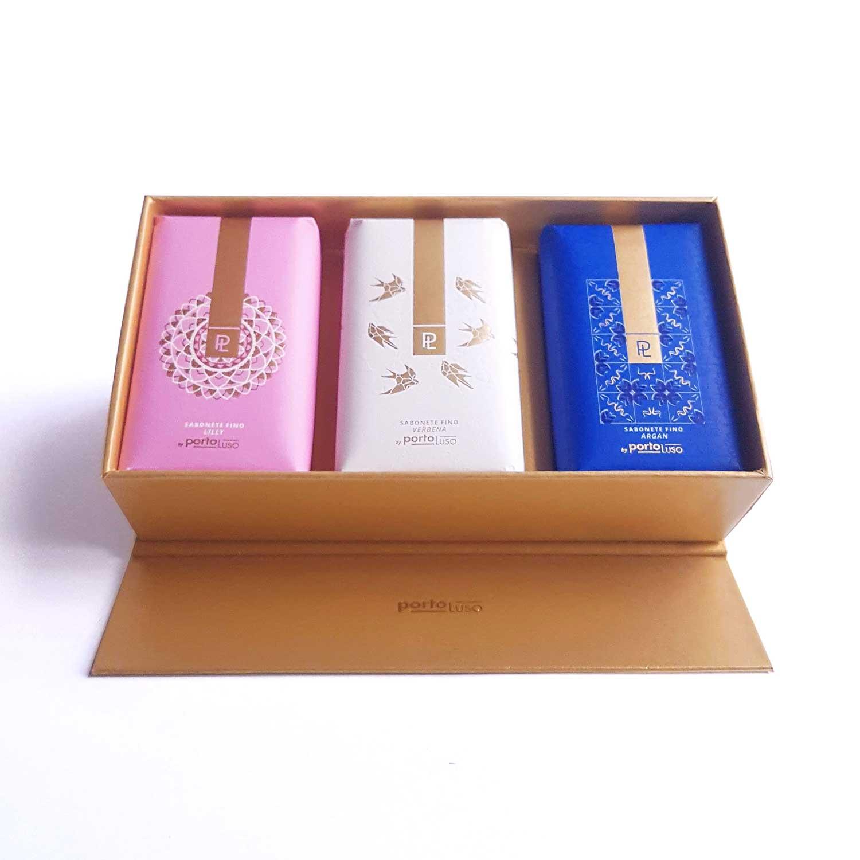 caixa 3 sabonetes
